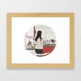 you're the glue Framed Art Print