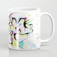 trip Mugs featuring Trip by Parker Gibson