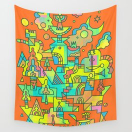 Structura 10 Wall Tapestry
