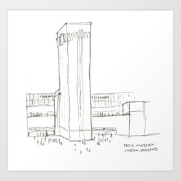 Tate Modern Art Print