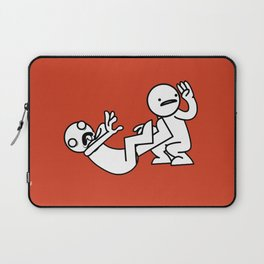 ASDF: Is There a Doctor In The House? Laptop Sleeve