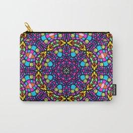 Arabesque kaleidoscopic Mosaic G519 Carry-All Pouch