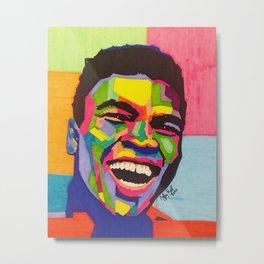 Muhammed Ali Metal Print