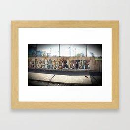 OneB - Philadelphia Framed Art Print