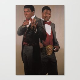 the fightin Canvas Print