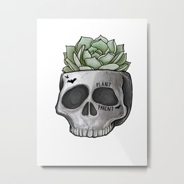 Plant Parent Metal Print