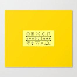 SYMBOLWAY Canvas Print