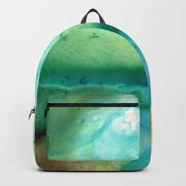 Peaceful Understanding - Abstract Art By Sharon Cummings Backpack