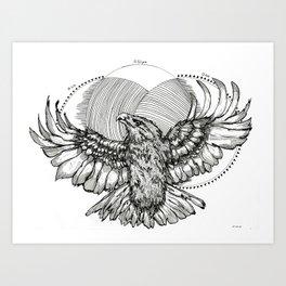 The Eagle Art Print