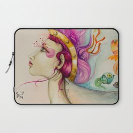 Fishes in my head Laptop Sleeve