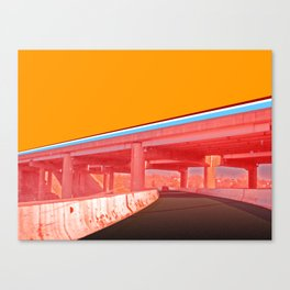 I-70E Underpass Canvas Print