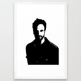 Jonny Lee Miller Framed Art Print