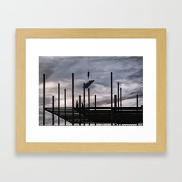 Iron Workers, Canandaigua 2015 Framed Art Print