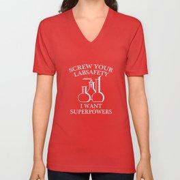I Want Superpowers Unisex V-Neck