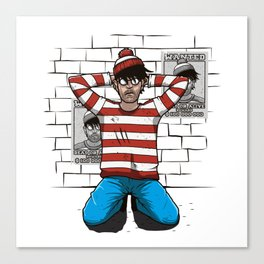 Arrest Canvas Print