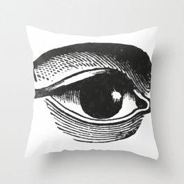 Eye 2 Throw Pillow