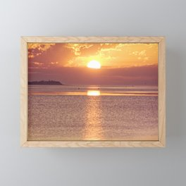 Light the Skies Framed Mini Art Print
