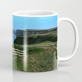 Bempton Cliffs Footpath  Coffee Mug