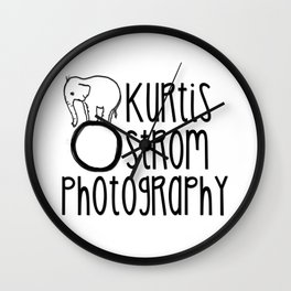 Kurtis Ostrom Photography Swag Wall Clock
