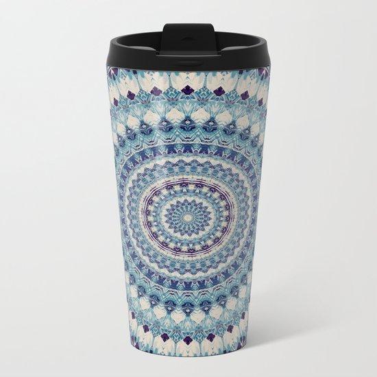Mandala 587 Metal Travel Mug