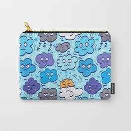 Gloomy clouds Carry-All Pouch