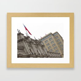 Palacio de la Moneda Framed Art Print