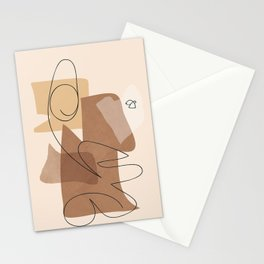 Free Abstract Art II Stationery Cards