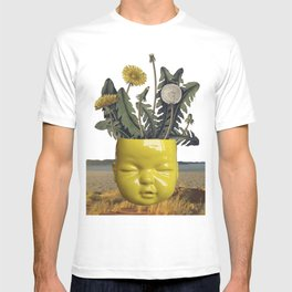 realismo magico - yellow T-shirt