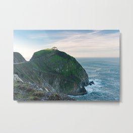 Slice of Light Metal Print