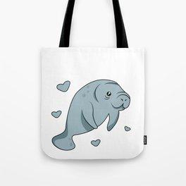 I Just Freakin Love Manatees Okay Tote Bag