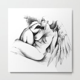 The Angles of Angels Metal Print