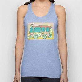 Hippie Bus Unisex Tank Top