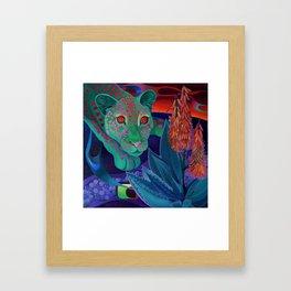 Whispers of the night. Framed Art Print
