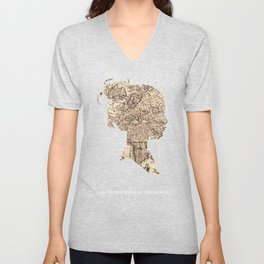 And To The Ends Of The Earth Unisex V-Neck
