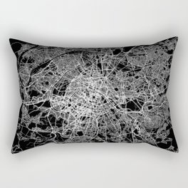 Paris map #2 Rectangular Pillow