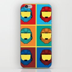 Warhol's Red vs Blue iPhone & iPod Skin