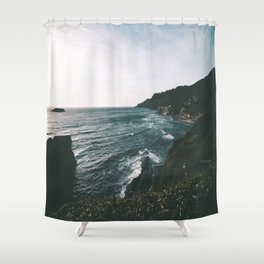 Oregon Coast IX Shower Curtain