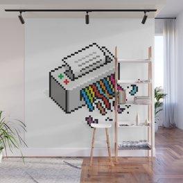 Input Output Wall Mural