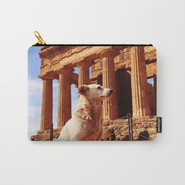 Majestic Dog for a Majestic View Carry-All Pouch