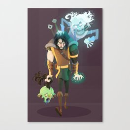 Talion and Celebrimbor Canvas Print