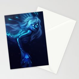 Deep Sea Mermaid Stationery Cards