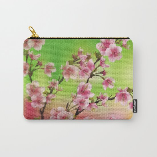Cherry Blossom - Variation 3 Carry-All Pouch
