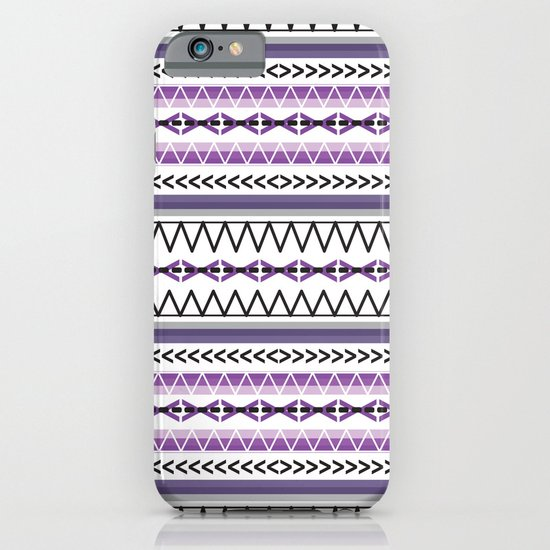 Tribal Purple iPhone & iPod Case