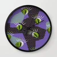 shell Wall Clocks featuring Shell by [Oxz]