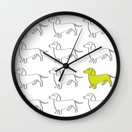 Weenie Collective Wall Clock