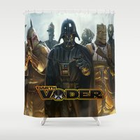 darth vader Shower Curtains featuring Darth Vader by store2u