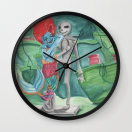 The Little Rag Doll Wall Clock