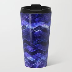 Glitter Waves III Metal Travel Mug