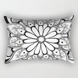 Daisy mandala Rectangular Pillow
