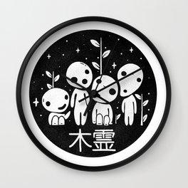 Kodama - Mononoke Wall Clock